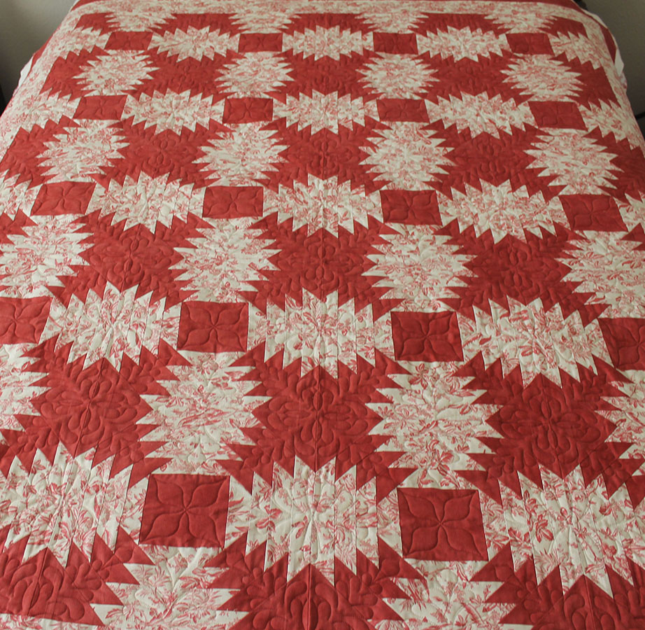 Falling Star Quilts Pineapple Quilt